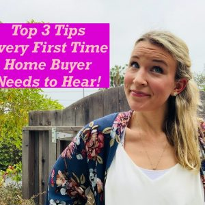 Every First Time Home Buyer Needs to Hear These Top 3 Tips!🏡