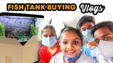 NEW HOME BUYING VLOG ?😂|HOME FOR OUR KUTTIES|FISH TANK VLOG|@Kaatupoochi vlogs!