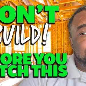 New Construction Tips for Home Buyers | Buying a Home in 2021